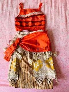 Authentic Moana dress