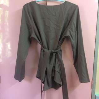 PL Wrap Blouse  #18sale