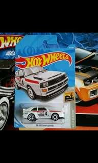 🚚 Hot Wheels Lot of Audi Quattro and Volkswagen MK2