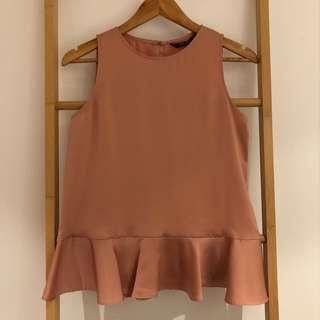 Zara Satin Top