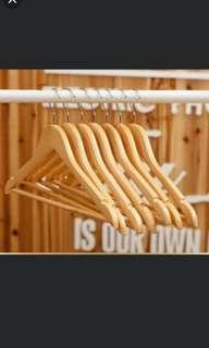 free shipping wooden hangers