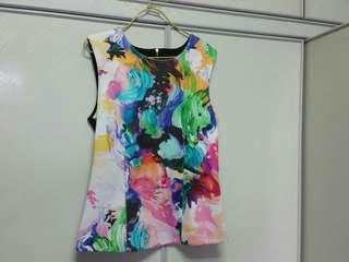 Office work casual MDS top blouse Nice!