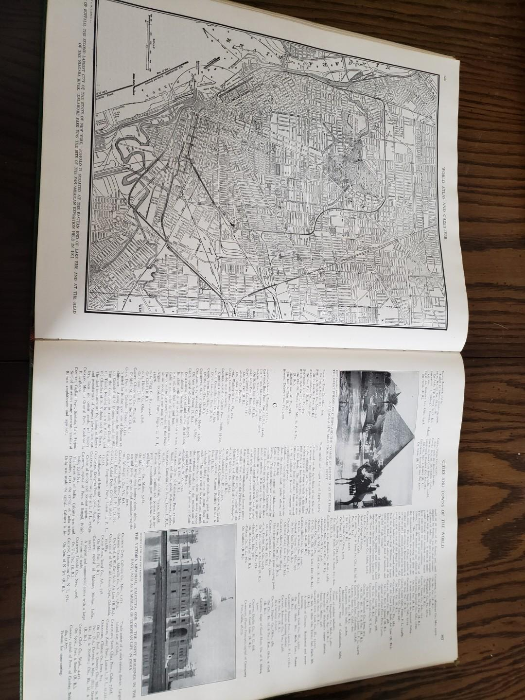 1940's Colliers World Atlas and Gazetter