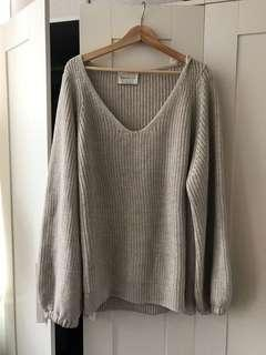 Aritzia Babaton sweater with bell sleeves