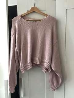 Aritzia Wilfred free cropped sweater