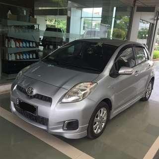 Toyota Yaris e 2012 MT