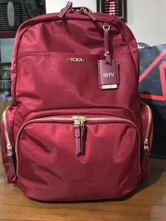Tumi Backpack Red Calais (Limited Edition)