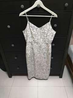 Playdress White Flora Dress