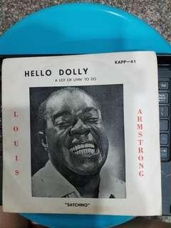 "7"" Vinyl : Louis Armstrong ""Satchmo"""