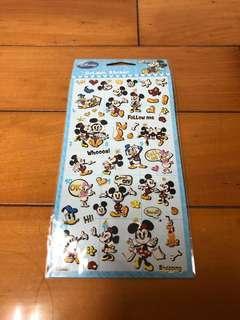 🚚 迪士尼燙金貼紙