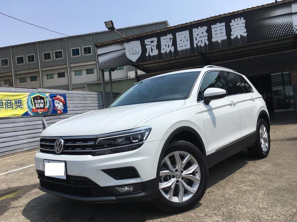 2019 Volkswagen Tiguan 330 TSI Highline 只跑29公里··原廠新車!!和