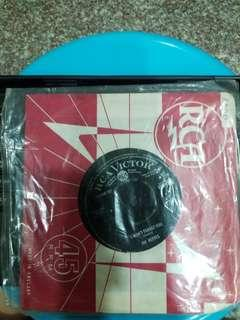 """7"""" Vinyl : Jim Reeves - I won't forget you"""