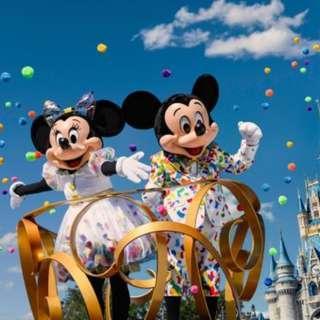 香港迪士尼樂園門票 成人 電子 門票 (可升級年票) Disney HK