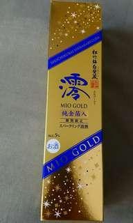 日本純金箔清酒
