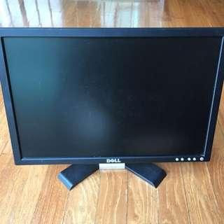 "🚚 Dell 19"" Widescreen LCD Monitor Good Condition!"