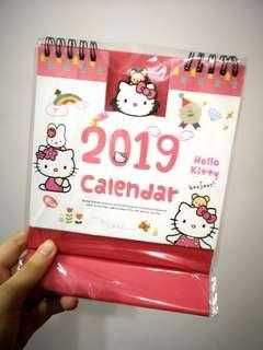 2019 Hello Kitty Calendar