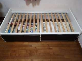 IKEA Single Storage Bed Frame