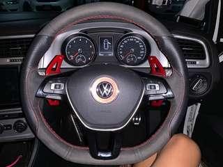 VW Golf MK7 steering wheel