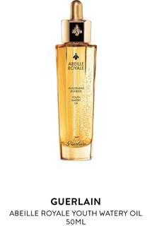 全新Guerlaind ABEILLE ROYALE YOUTH WATERY OIL l50ml <殿級蜂皇水凝黑蜂活肌蜜>