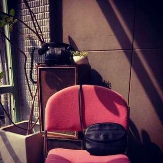 🚚 法國製Longchamp 黑色古董小包