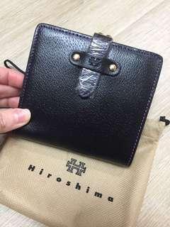 Hiroshima 真皮短銀包