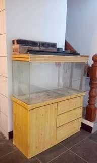 3尺魚缸櫃