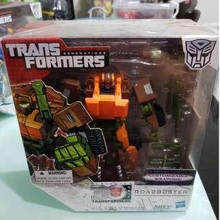BIB Voyager class Transformers Generations - Road Buster