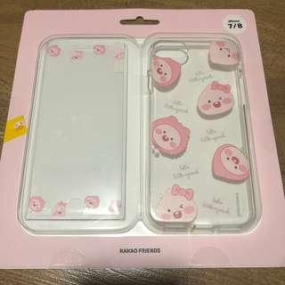 APEACH PHONE SCREEN PROTECTOR AND COVER
