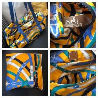 Hermes foldable carry bag