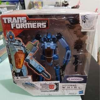 MISB Voyager class Transformers Generations - Whirl