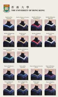 港大畢業袍 HKU FBE Bachelor's Graduation Gown