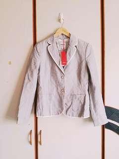 🚚 🔸全新ESPRIT條紋西裝外套