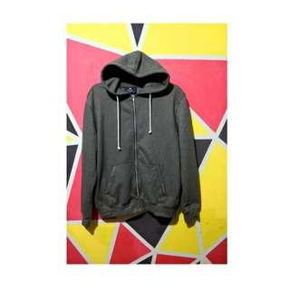 ZIP HOODY ARMY BY H&M ORIGINAL