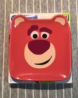 全新 7-11 Disney 30 years of Pixar Toy Story Lotso 迪士尼 陶瓷碟 勞蘇