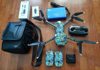 🚚 Mavic Pro Fly More Combo - Good condition, low flight hours