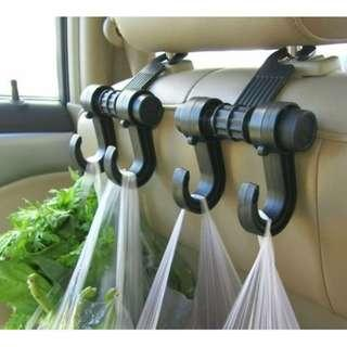 2Pcs New Universal Car Truck Suv Seat Back Hanger Organizer Hook Headrest Holder