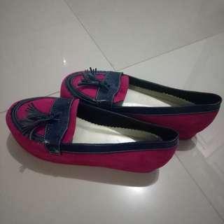 Wedges platform BRShoes BR Shoes Custom Fuchia