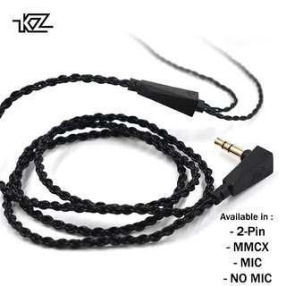 KZ 4-Core IEM Replacement Cables