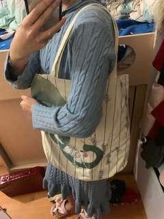 幾米布袋 (奶粉袋,大袋,返學袋)