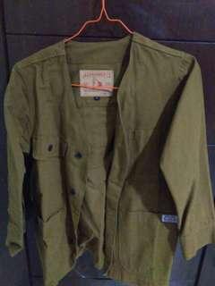 Jack Hammer Canvas Fisherman Jacket