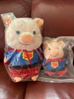 超人Puton豬公仔