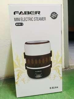 Mini electric steamer / cooker