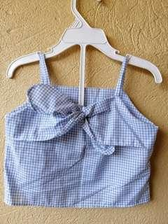 Baby Girl Top Gingham