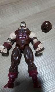 Marvel legends spiderman classic juggernaut