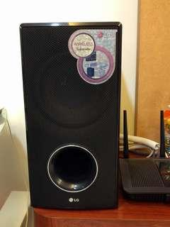 LG Wireless Subwoofer SHS36-D