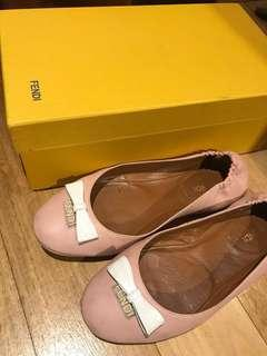 🚚 Authentic pre-loved Fendi Ballerina Nappa Flats (Eur 36)
