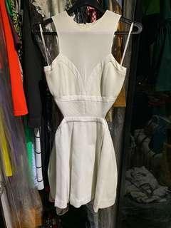 Three Floor Cut Out Bustier Dress