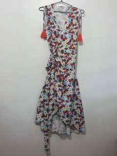 Wraparound Boho Dress