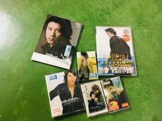 Lee Hom cassettes, cd, dvd