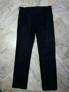Uniqlo men's long trousers slim fit (32 inch)